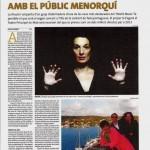Diario de Menorca - 18.11.2012